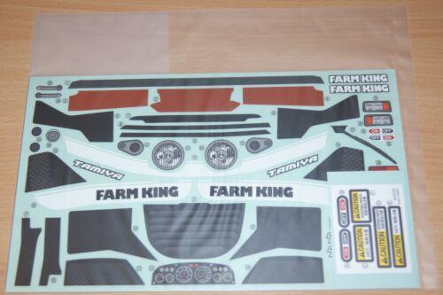 Tamiya 58556 Farm King//WR02G NIP 9495760//19495760 Decals//Stickers
