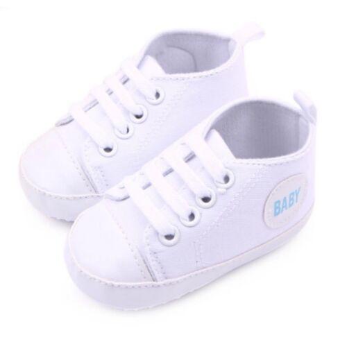 Baby Schuhe Babyschuhe Lauflernschuhe Krabbelschuhe Sneakers rosa weiß blau