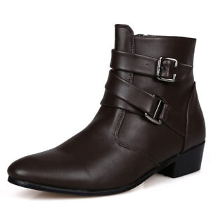 automne Zapatos Hombre oxfords printemps cuir cheville bottes Nouveau hommes xqwTtPA
