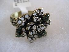 "HEIDI DAUS ""Garden Gardenia"" Size 12 Floral Ring (Orig.$59.95)"