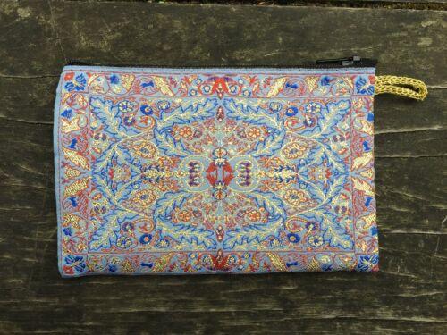 Zingaro della Zippered della di blu libero borsa della Boemia moneta immagazzinaggio trasporto borsa vEEgrq