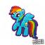 MY-LITTLE-PONY-Pins-Pin-Crocs-Clogs-Jibbitz-Rainbow-Dash-Scrapbooking-Disney Indexbild 16