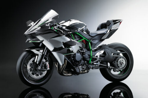 2015 KAWASAKI NINJA H2R MOTORCYCLE POSTER PRINT 24x36 HI RES 9 MIL PAPER
