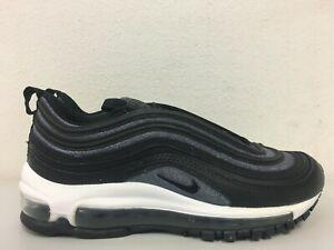 Nike Women's Air Max 97 Se Glitter Black White Running