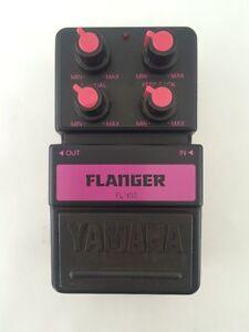 yamaha fl 100 analog flanger rare vintage guitar effect pedal made in japan ebay. Black Bedroom Furniture Sets. Home Design Ideas