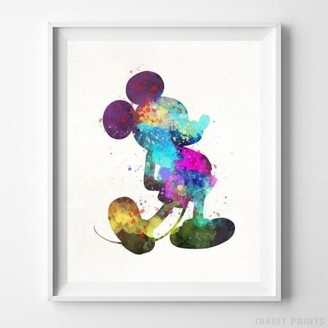 MICKEY MOUSE CLUBHOUSE GLOSSY WALL ART POSTER PRINT A1 - A5 SIZES AVAILABLE