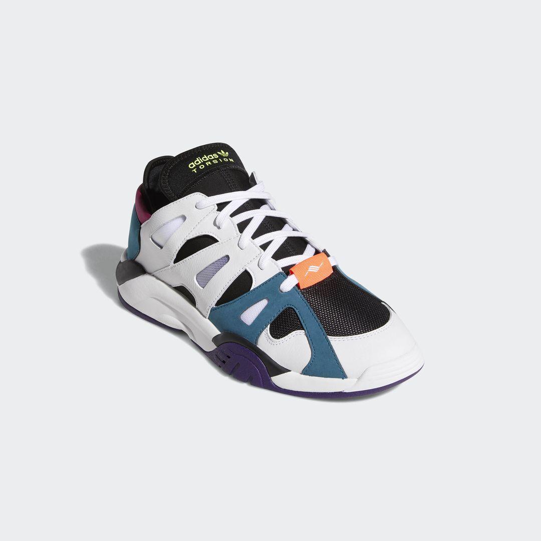 Adidas dimension niedrigen weißen real blaugrün / f34418 / männer originale schwarzen retro - 90