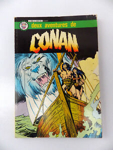 Album-Nr-3-Zwei-Aventures-De-Conan-Artima-Color-039-Marvel-Super-Star-Nr-9-10