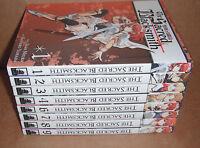 Sacred Blacksmith Vol. 1,2,3,4,6,7,8,9 Manga Graphic Novels Set English