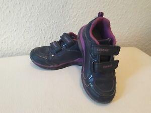 Details zu gute gebrauchte Geox Schuhe Blinkschuhe Blinkies Mädchen Größe 27