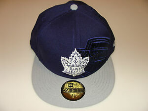 New Era 2012 Shimmer 59Fifty Cap Fitted Hat NHL Hockey 7 3 8 Toronto ... 34d379ec389
