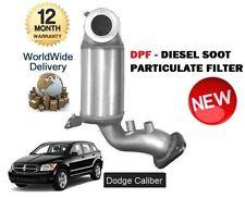 Per DODGE CALIBER 2.0 CRD 2008-4/2011 NUOVO DPF Diesel fuliggine filtro del particolato