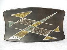 Well shaped / formschöne 60´s design SOHOLM Keramik Schale / bowl Demark 41 cm