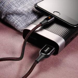 Aleacion-de-Zinc-Lightning-Usb-Data-Sync-cargador-Cable-Cable-Para-Apple-iPhone-5-6-7-8-X