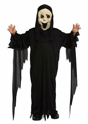 Children/'s Demon Ghost Scream Halloween Party Fancy Dress Costume Ages 4-12