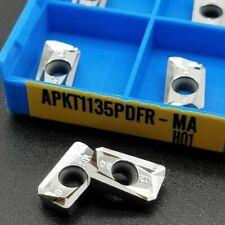 APMT1604PDER VP4008 10X Slotting Shoulder Carbide Insert Milling Cutter Tool