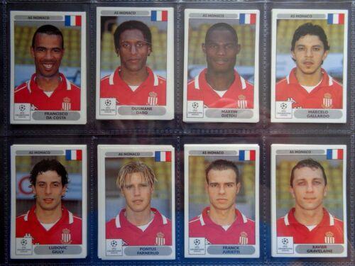 Panini UEFA Champions League 2000-2001 * por favor seleccione Pegatinas * de 100 a 199