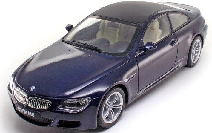 Modelbil, 2006 BMW M6 Coupé, skala 1:18