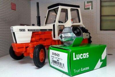 Original Lucas Interruptor De Luz De Freno Hidráulico David Marrón caso selectamatic Tractor