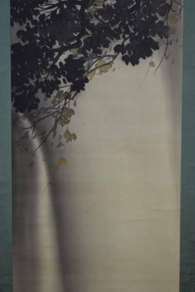 Inteligente Japonés Pintura Colgante Rollo Japón Cascade Cascada Antiguo Vintage 559n Calidad Y Cantidad Asegurada