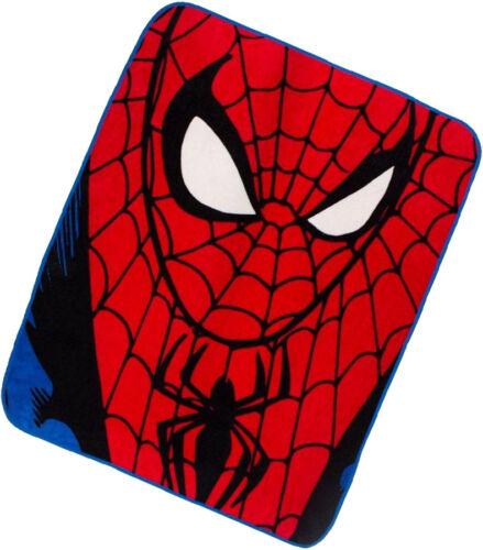 Spiderman Super Soft Coral Fleece Throw Bed Blanket 120cm x 150cm