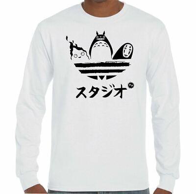 Studio Ghibli T-shirt homme toroto Hayao Miyazaki Anime unisexe Tee Top