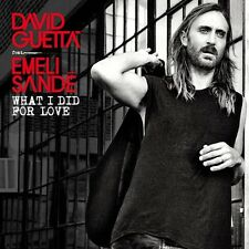 DAVID FEAT. SANDÉ,EMELI GUETTA - WHAT I DID FOR LOVE  CD SINGLE NEU