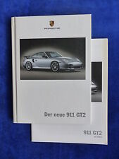 Porsche 911 GT2 - Typ 996 - Hardcover-Prospekt + Preisliste Brochure 04.2003