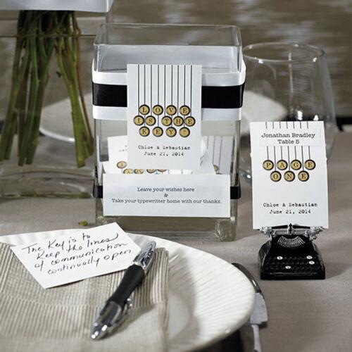 Tischkartenhalter Retro Schreibmaschine Platzhalter Tischkarten Gastgeschenk