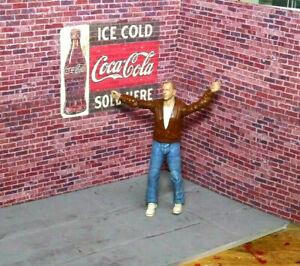 1-10-Scale-Brick-Action-Figure-Garage-Diorama-Crawler-Dollhouse-Accessories