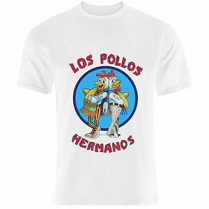Breaking-Bad-inspired-039-Los-Pollos-Hermanos-039-Walter-White-Heisenberg-T-Shirt