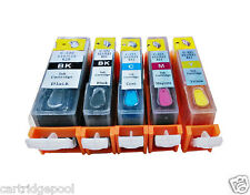 Refillable ink cartridges for Canon PGI-220 CLI-221 Pixma iP3600 iP4600 iP4700