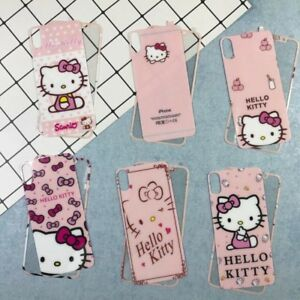 65e6036b0 iPhone X / iPhone 10 Hello Kitty Tempered Glass Screen Protector ...