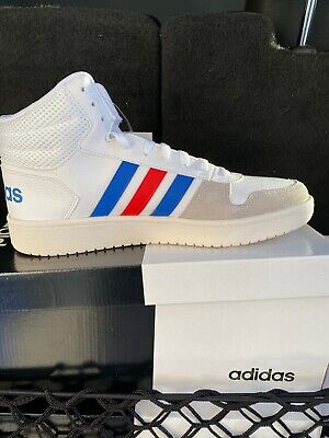 NEW* Adidas Hoops 2.0 Mid Men's Leather