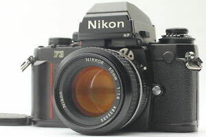 [exc+5] Nikon f3 HP 35mm SLR Filmkamera + Ai Nikkor 50mm f/1.4 Lens aus Japan