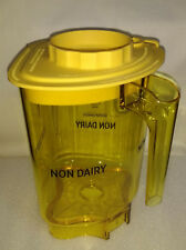 Vitamix Blending Station Advance Container Jar Non Dairy Yellow With Lid New 48