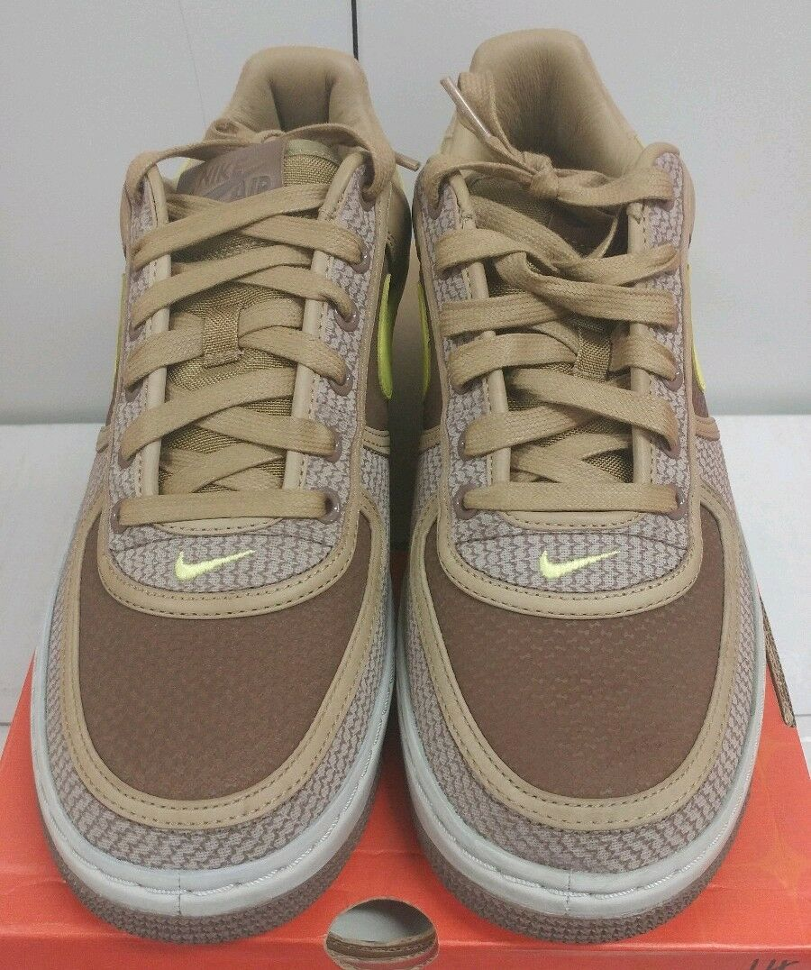 DS NIB ATMOS NIKE AIR FORCE 1 INSIDEOUT PRIORITY  UNDEFEATED  314770-271 Size 10