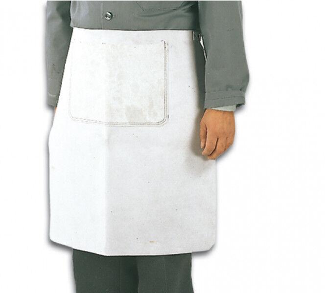 Arbeitsschürze Chrom-Kernspaltleder kurz, Schurz, mit ohne Tasche, Hüftschürze