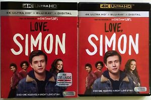 LOVE-SIMON-4K-ULTRA-HD-BLU-RAY-2-DISC-SET-SLIPCOVER-SLEEVE-FREE-WORLD-SHIPPING