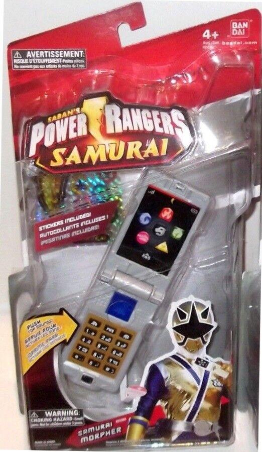 Power Rangers Samurai oro Samuraizer Morpher con sonidos Teléfono Abatible Juego de Rol