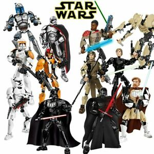 Star Wars Lot Buildable Figure Building Block Toy Chewbacca Darth Vader Kylo Ren