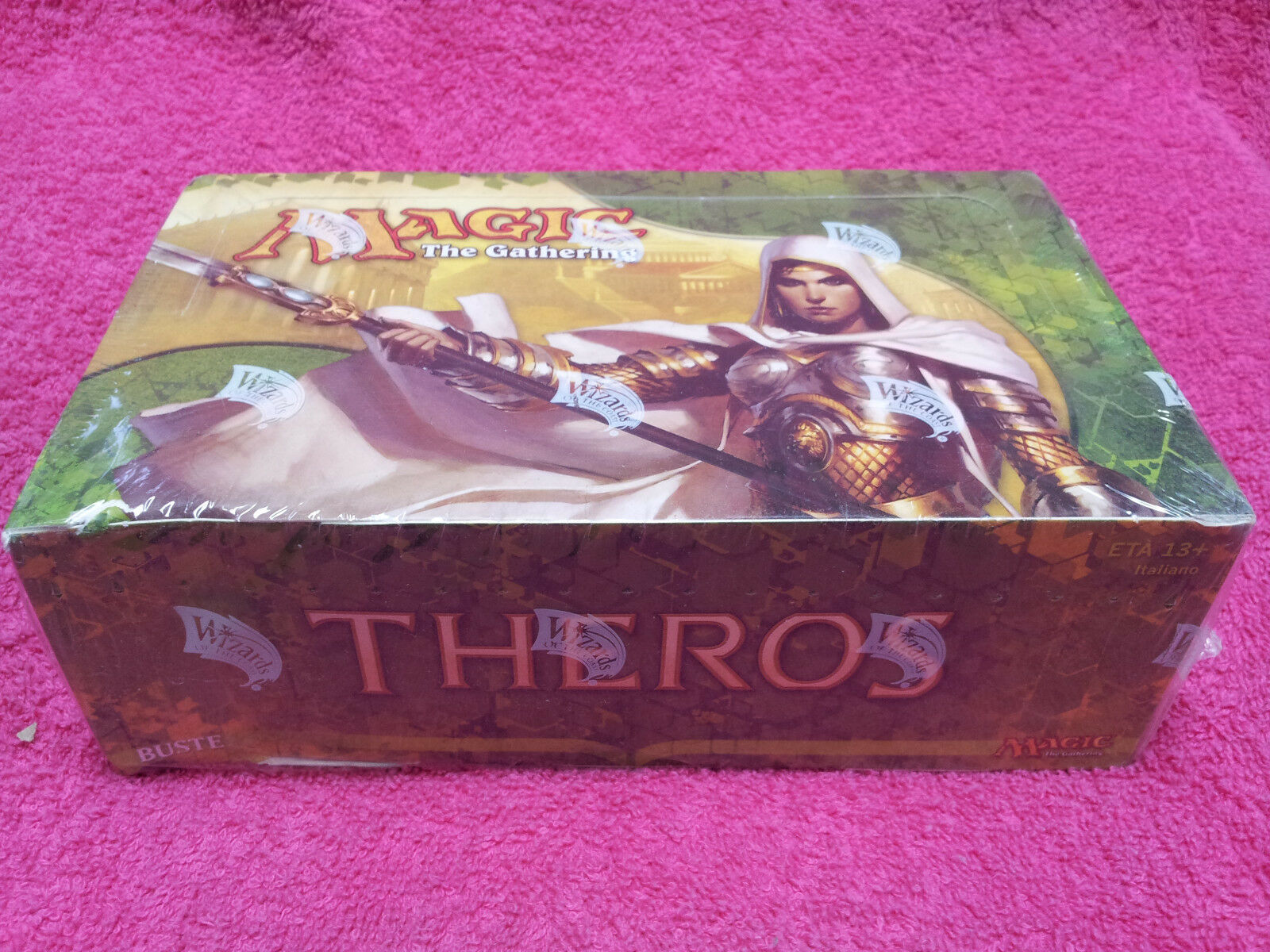 ITALIAN Magic MTG Theros THS Factory Sealed Booster Box Display IT The Gathering