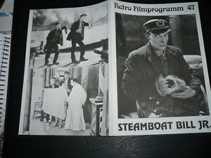 Steamboat Bill Buster Keaton vintage movie poster print 2