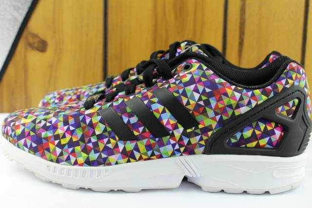 ADIDAS ZX FLUX S81604 MEN Size  7.5 OCEAN LIMITED RUNNING AUTHENTIC COMFORTABLE