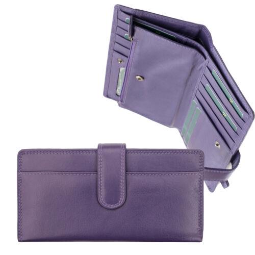 Hide femme Nouveau Ultra en cuir Portefeuille pour violet Grand Prime Touch Soft O8Pnwk0