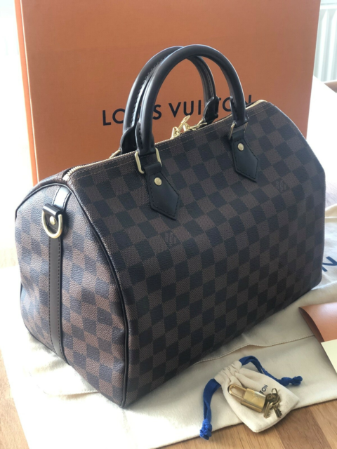 Crossbody, Louis Vuitton, kanvas, Købt i Dubai Mall…