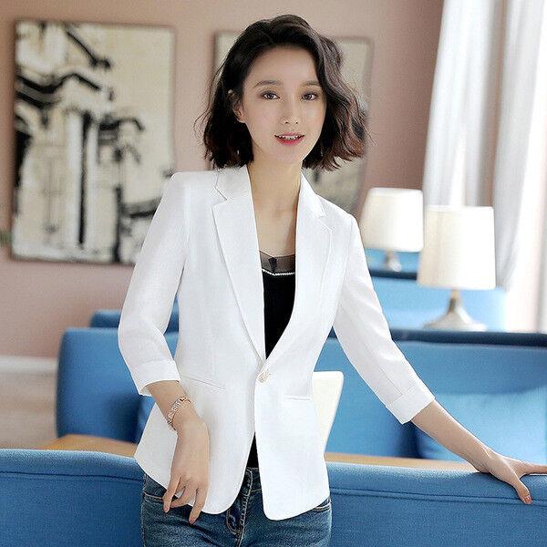 9af99111bc45 Dimensioneur donna corta manica lunga rosso elegante slim 7193 slim giacca  ntzgga3761-Tailleur e abiti sartoriali
