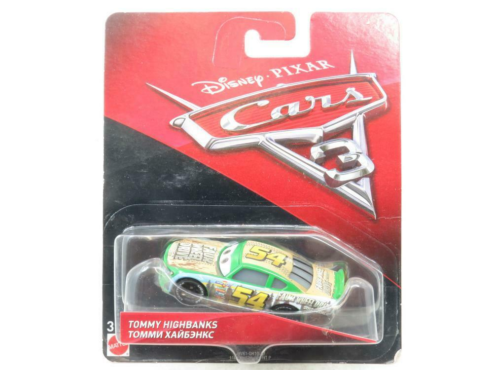DISNEY PIXAR CARS 3 TOMMY HIGHBANKS