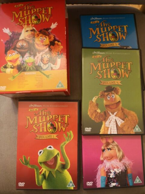 The Best Of The Muppets Show Volume 1-4 Boxset Collection Jim Henson 4 DVD