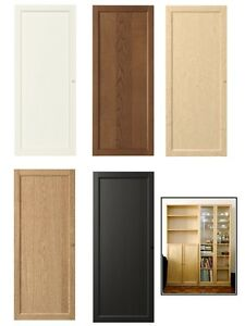 ikea oxberg doors with hinges knobs multipurpose doors 40x97 cm 5 colours new ebay. Black Bedroom Furniture Sets. Home Design Ideas